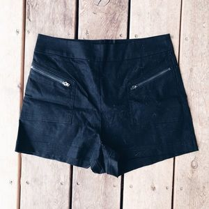 Urban Outfitters Silence+Noise Black Dressy Shorts